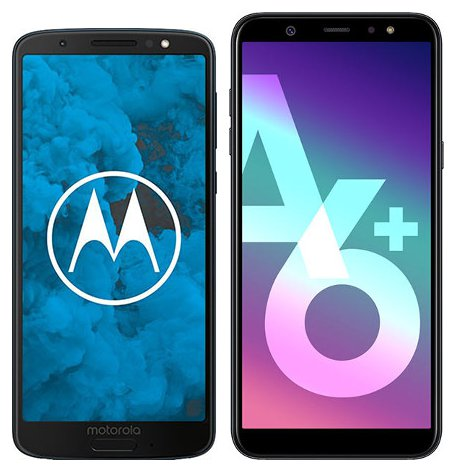 Smartphone Comparison: Motorola moto g6 vs Samsung galaxy a6 plus