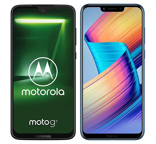 Smartphone Comparison: Motorola moto g7 vs Honor play