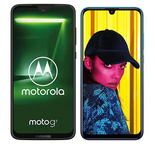 Smartphone Comparison: Motorola moto g7 vs Huawei p smart 2019