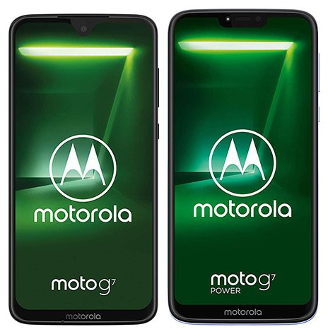 Smartphone Comparison: Motorola moto g7 vs Motorola moto g7 power