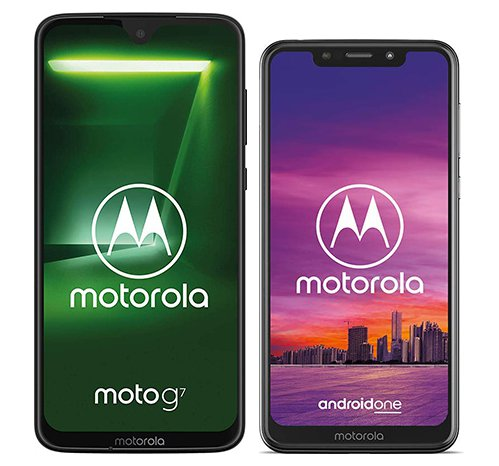 Smartphone Comparison: Motorola moto g7 vs Motorola one