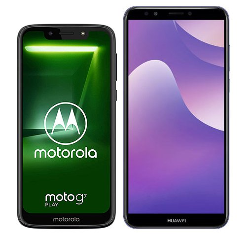 Smartphone Comparison: Motorola moto g7 play vs Huawei y7 2018