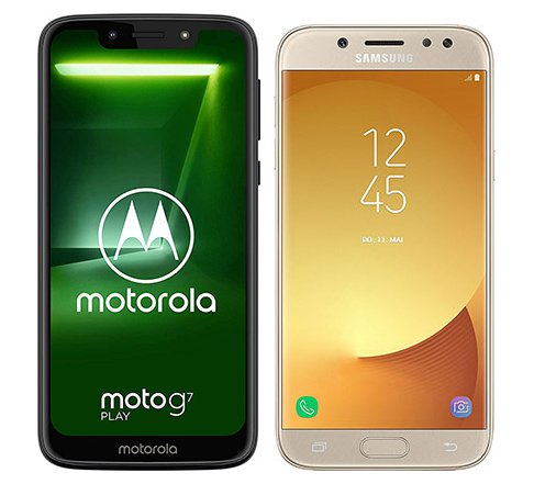 Smartphone Comparison: Motorola moto g7 play vs Samsung galaxy j5 duos 2017