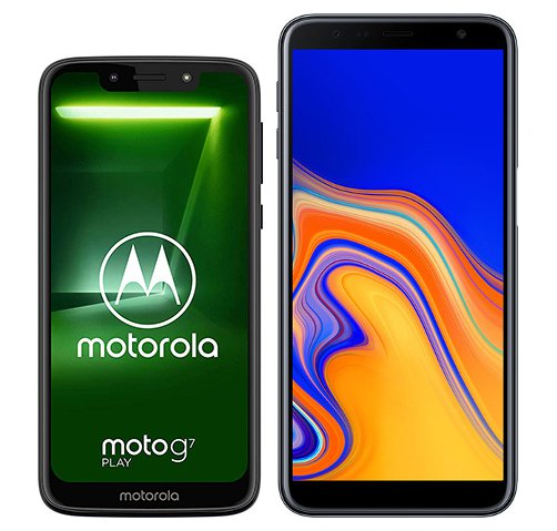 Smartphone Comparison: Motorola moto g7 play vs Samsung galaxy j6 plus