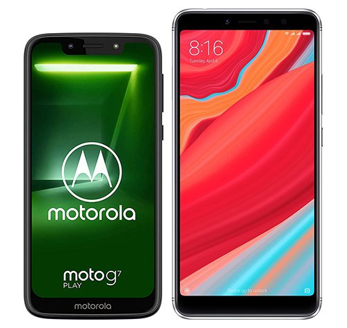 Smartphone Comparison: Motorola moto g7 play vs Xiaomi redmi s2