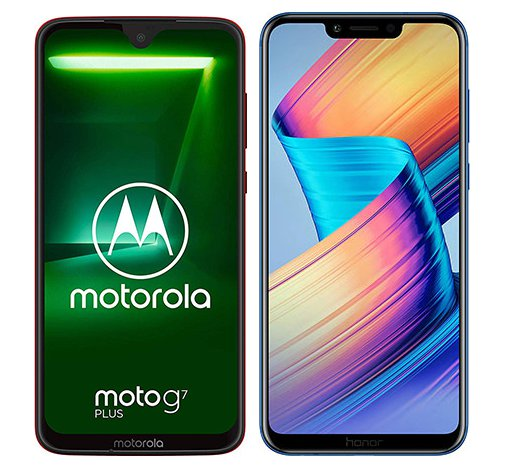 Smartphonevergleich: Motorola moto g7 plus oder Honor play