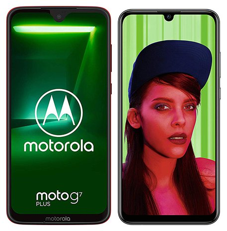 Smartphone Comparison: Motorola moto g7 plus vs Huawei p smart plus 2019