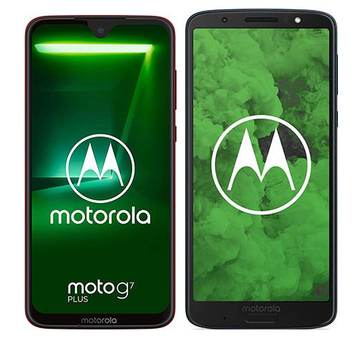 Smartphone Comparison: Motorola moto g7 plus vs Motorola moto g6 plus