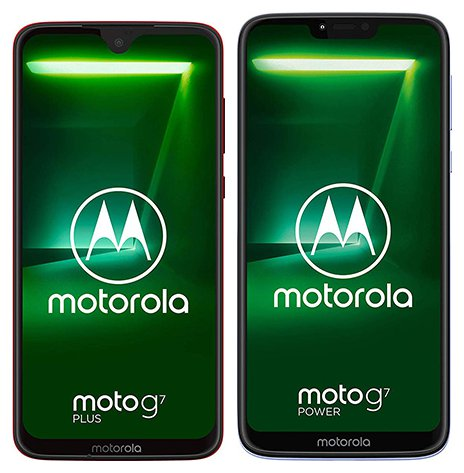 Smartphone Comparison: Motorola moto g7 plus vs Motorola moto g7 power