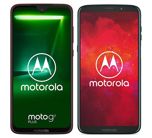 Smartphone Comparison: Motorola moto g7 plus vs Motorola moto z3 play