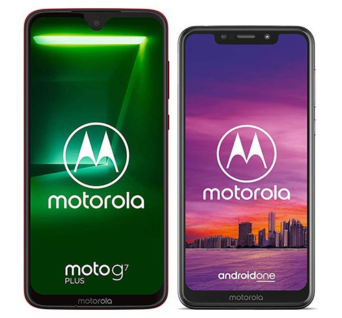 Smartphone Comparison: Motorola moto g7 plus vs Motorola one