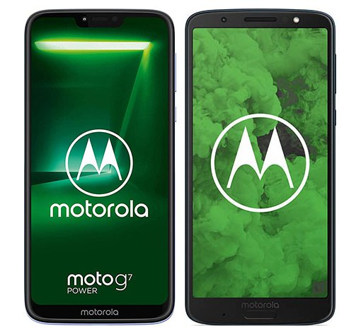Smartphone Comparison: Motorola moto g7 power vs Motorola moto g6 plus