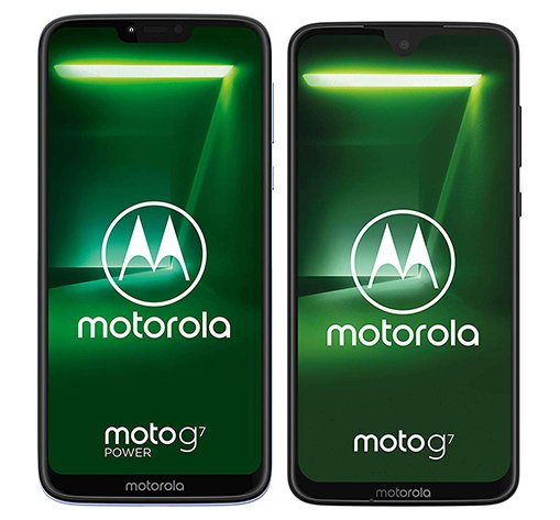 Smartphone Comparison: Motorola moto g7 power vs Motorola moto g7