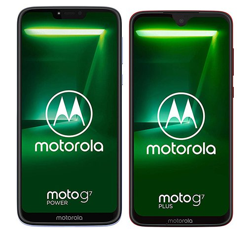 Smartphone Comparison: Motorola moto g7 power vs Motorola moto g7 plus
