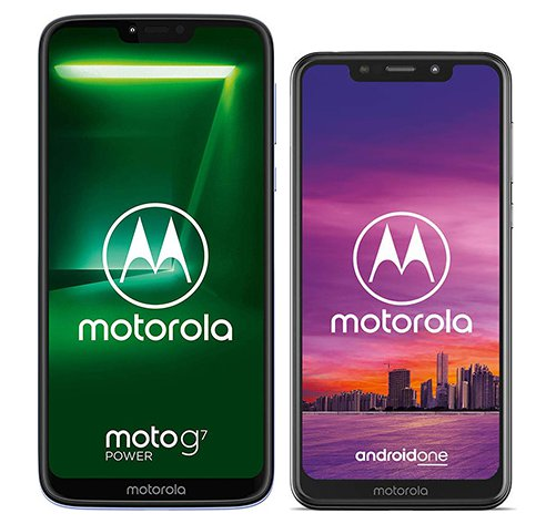 Smartphone Comparison: Motorola moto g7 power vs Motorola one
