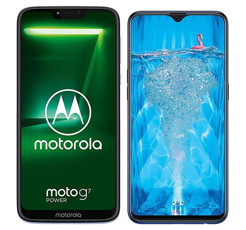 Smartphone Comparison: Motorola moto g7 power vs Oppo f9 pro