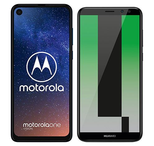 Smartphonevergleich: Motorola one vision oder Huawei mate 10 lite