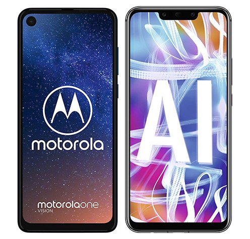 Smartphonevergleich: Motorola one vision oder Huawei mate 20 lite