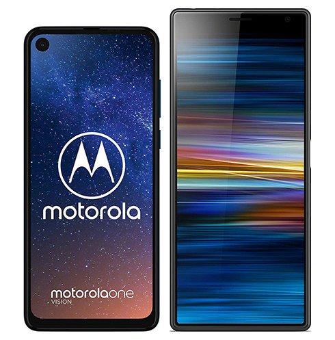 Smartphonevergleich: Motorola one vision oder Sony xperia 10 plus