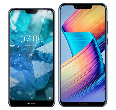 Smartphone Comparison: Nokia 7 1 vs Honor play