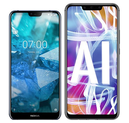 Smartphone Comparison: Nokia 7 1 vs Huawei mate 20 lite