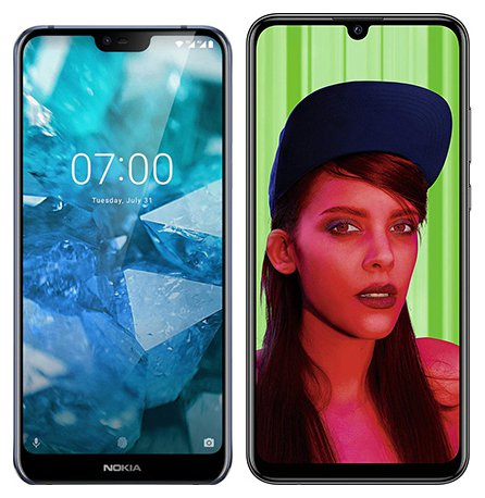 Smartphone Comparison: Nokia 7 1 vs Huawei p smart plus 2019