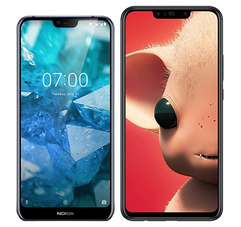 Smartphone Comparison: Nokia 7 1 vs Huawei p smart plus