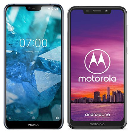 Smartphone Comparison: Nokia 7 1 vs Motorola one