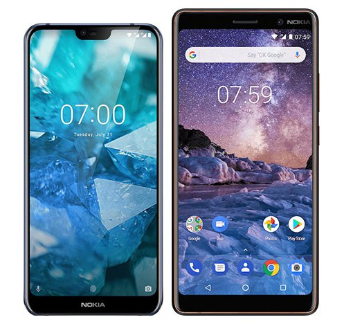 Smartphone Comparison: Nokia 7 1 vs Nokia 7 plus