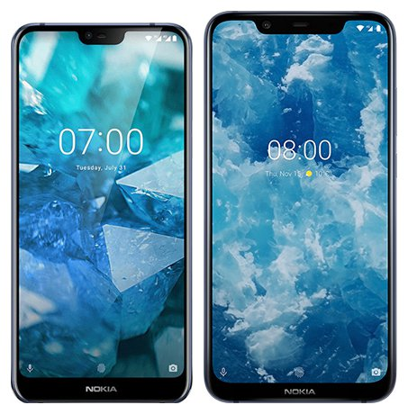 Smartphone Comparison: Nokia 7 1 vs Nokia 8 1