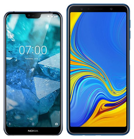 Smartphone Comparison: Nokia 7 1 vs Samsung galaxy a7 2018