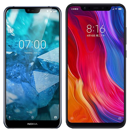 Smartphone Comparison: Nokia 7 1 vs Xiaomi mi 8