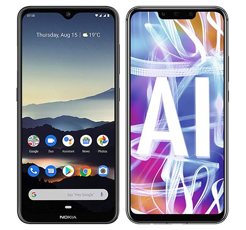 Smartphone Comparison: Nokia 7 2 vs Huawei mate 20 lite