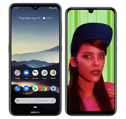 Smartphone Comparison: Nokia 7 2 vs Huawei p smart plus 2019
