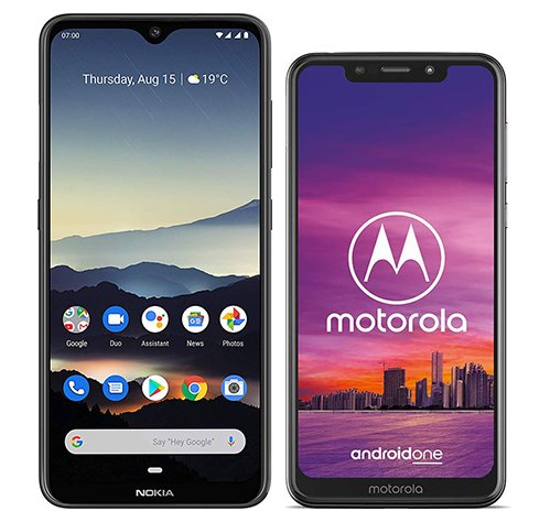 Smartphone Comparison: Nokia 7 2 vs Motorola one