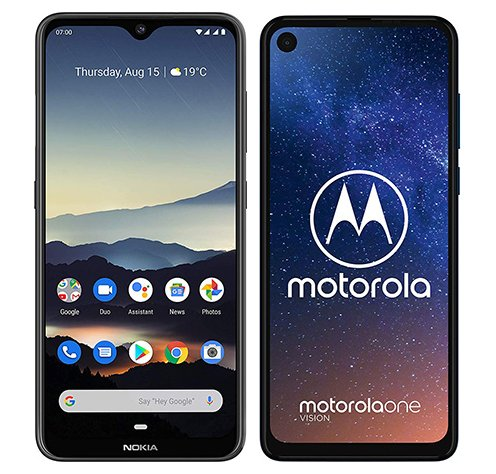 Smartphone Comparison: Nokia 7 2 vs Motorola one vision