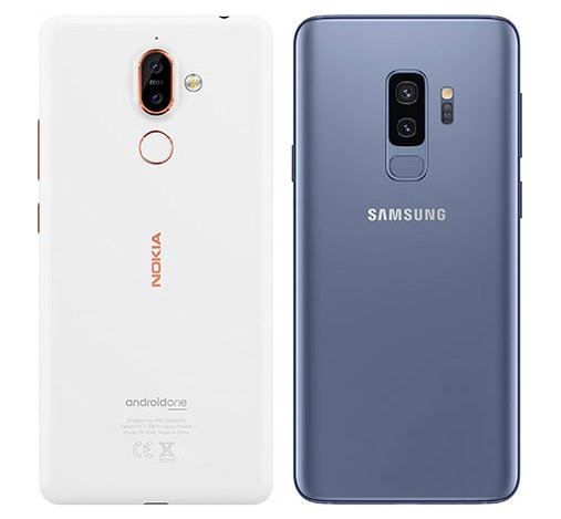 samsung s9 vs nokia 7 plus