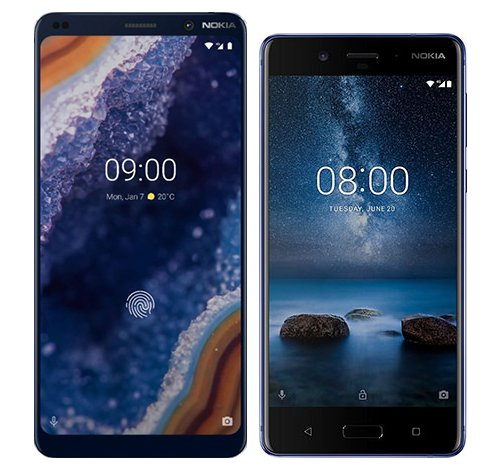 Smartphone Comparison: Nokia 9 vs Nokia 8