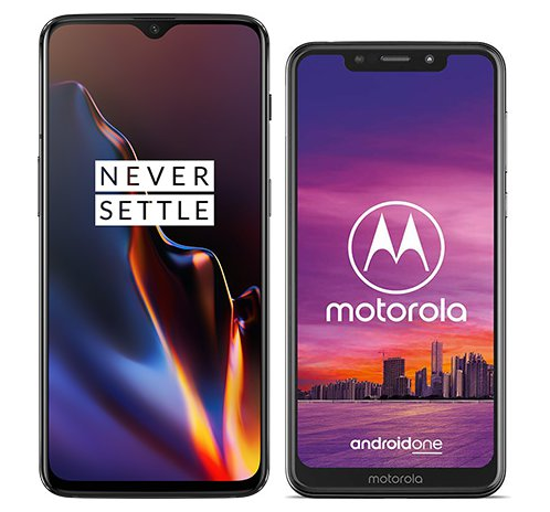 Smartphone Comparison: One plus 6t vs Motorola one