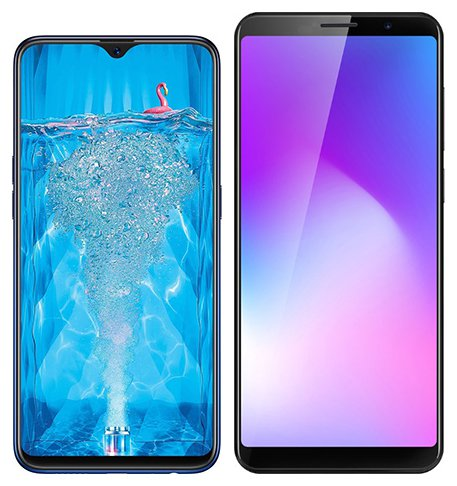 Smartphone Comparison: Oppo f9 pro vs Cubot power