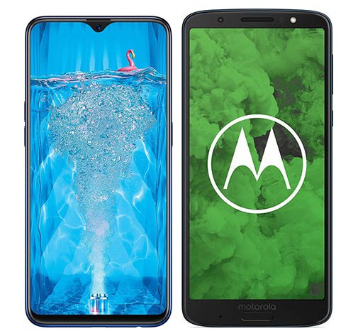 Smartphone Comparison: Oppo f9 pro vs Motorola moto g6 plus