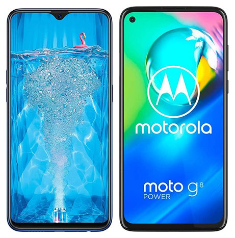 Smartphone Comparison: Oppo f9 pro vs Motorola moto g8 power