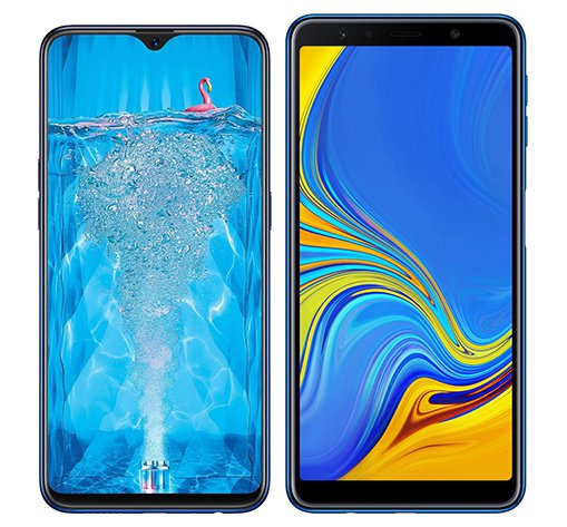Smartphone Comparison: Oppo f9 pro vs Samsung galaxy a7 2018