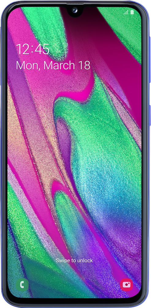 Samsung Galaxy A40 front