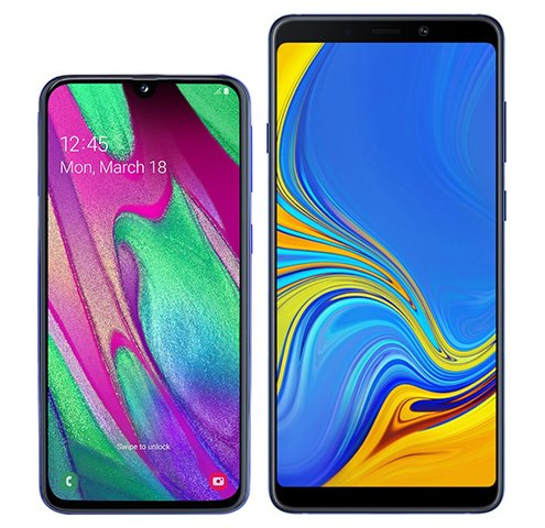 Smartphone Comparison: Samsung galaxy a40 vs Samsung galaxy a9