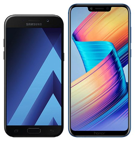Smartphonevergleich: Samsung galaxy a5 2017 oder Honor play