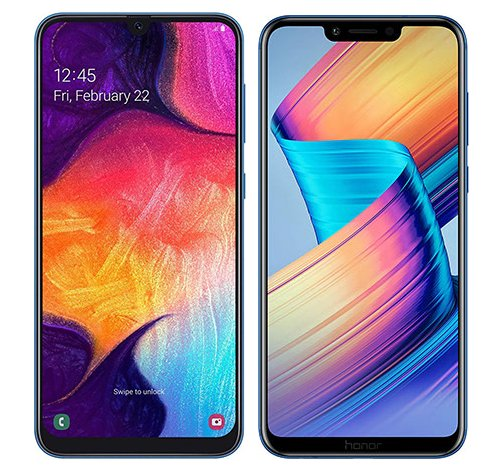Smartphonevergleich: Samsung galaxy a50 oder Honor play