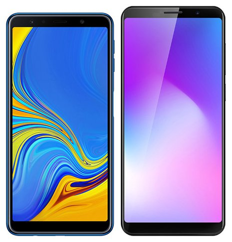 Smartphone Comparison: Samsung galaxy a7 2018 vs Cubot power