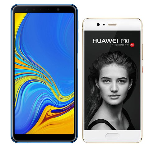 Smartphone Comparison: Samsung galaxy a7 2018 vs Huawei p10