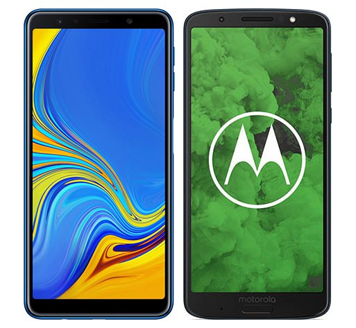 Smartphone Comparison: Samsung galaxy a7 2018 vs Motorola moto g6 plus